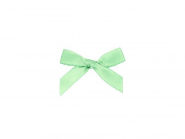 Partytischdecke.de | Satinschleifen 5 cm x 3,5 cm mint grün