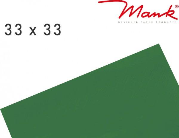 Partytischdecke.de   Serviette Mank 33x33 Tissue dunkelgrün