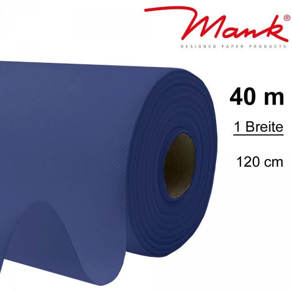 Partytischdecke.de | Tischdecke Mank Linclass 1,20 x 40 m royalblau