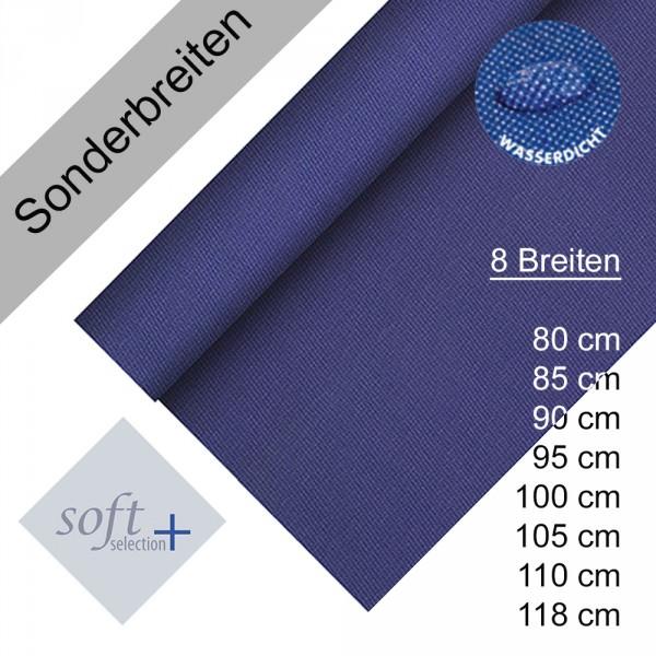 Partytischdecke.de | Tischdecke Soft Selection Plus dunkelblau Auswahl