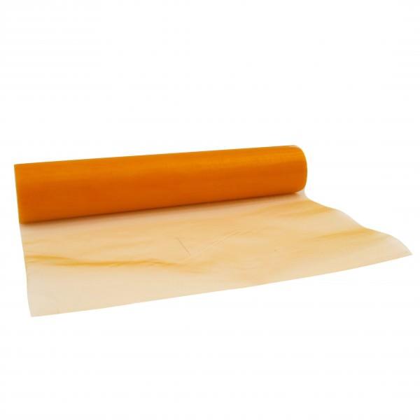 Partytischdecke.de | Organzaband 28 cm x 10 m orange