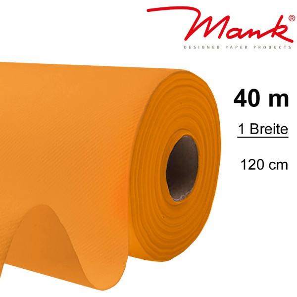 Partytischdecke.de | Tischdecke Mank Linclass 1,20 x 40 m orange