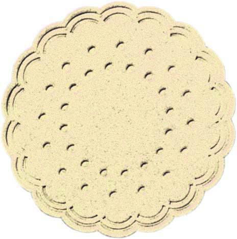 Partytischdecke.de | Duni Tassendeckchen Ø 7,5 cm cream