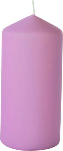Partytischdecke.de | Stumpenkerzen 7x15 Duni matt soft violett 6 Pack