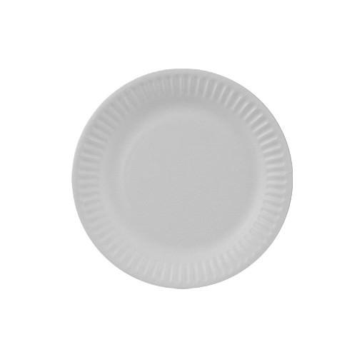 Partytischdecke.de | 100 Pappteller Pure Ø 15 cm weiss