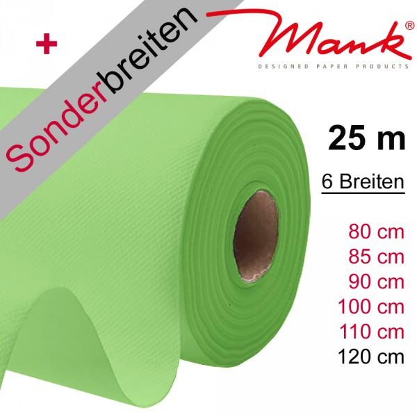 Partytischdecke.de | Tischdecke Mank Linclass 1,20 x 25 m apfelgrün