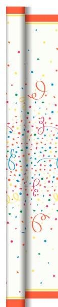Partytischdecke.de | Duni Tischdecke Dunicel 1,18 x 40 m Confetti