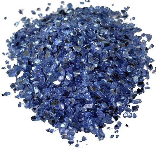 Partytischdecke.de | Spiegelgranulat 1-4 mm violett1 kg Beutel