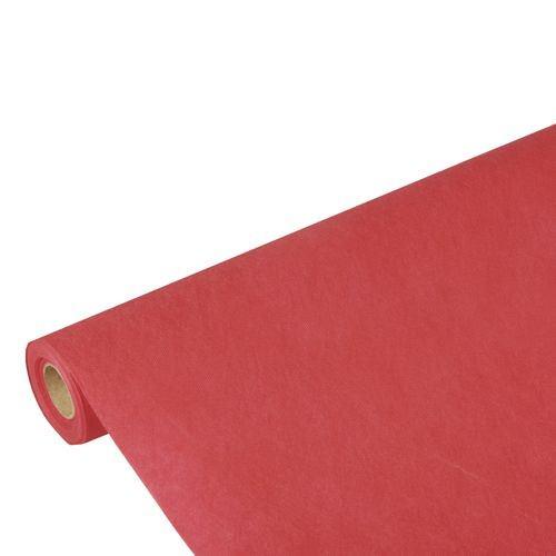 Partytischdecke.de | PP-Vlies Tischdecke Soft Selection 10 m x 1,18 m rot