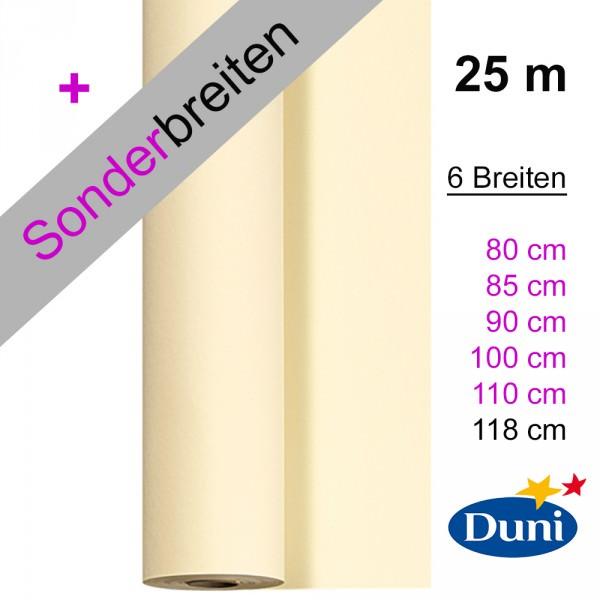 Partytischdekce.de | Tischdecke Duni Dunicel cream 25 m x Breite