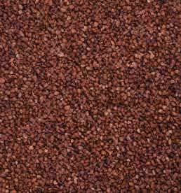 Partytischdecke.de   Perlkies schokobraun 1,2-1,8 mm 1 kg Beutel