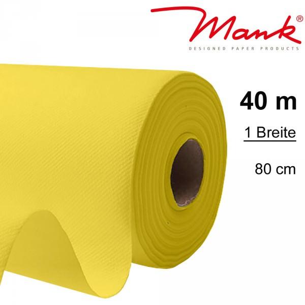 Partytischdecke.de | Tischdecke Mank Linclass 0,80 x 40 m gelb