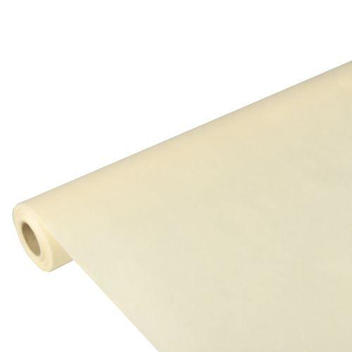 Partytischdecke.de | PP-Vlies Tischdecke Soft Selection 10 m x 1,18 m creme
