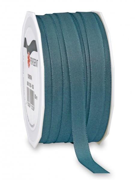 Partytischdecke.de | Satin Premium Band 10 mm x 50 m petrol