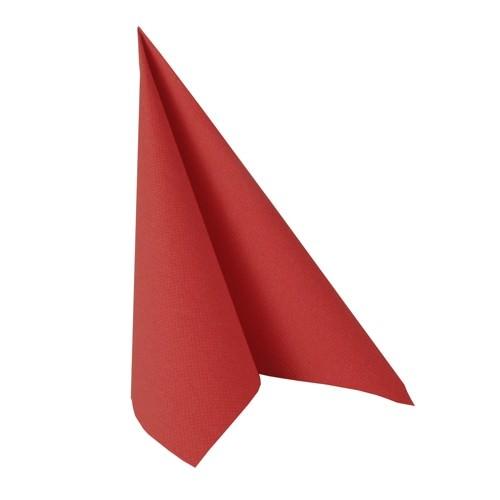Partytischdecke.de | Serviette 40x40 Royal rot 50 Stück