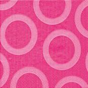 Partytischdecke.de   Servietten 25x25 Circle pink 20 Stück
