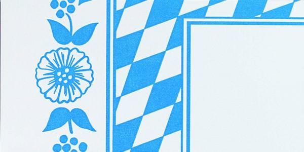 Partytischdecke.de | Mitteldecke 84 x 84 cm Dunicel Bayerische Raute 20 Stück