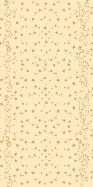 Partytischdecke.de | Mank Tischläufer Linclass 0,40 x 24 m Glitter Creme