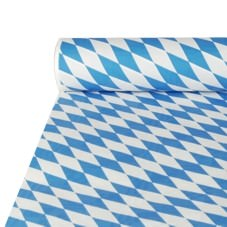 Partytischdecke.de | Tischdecke Papier 1 x 10 m Bavaria blau