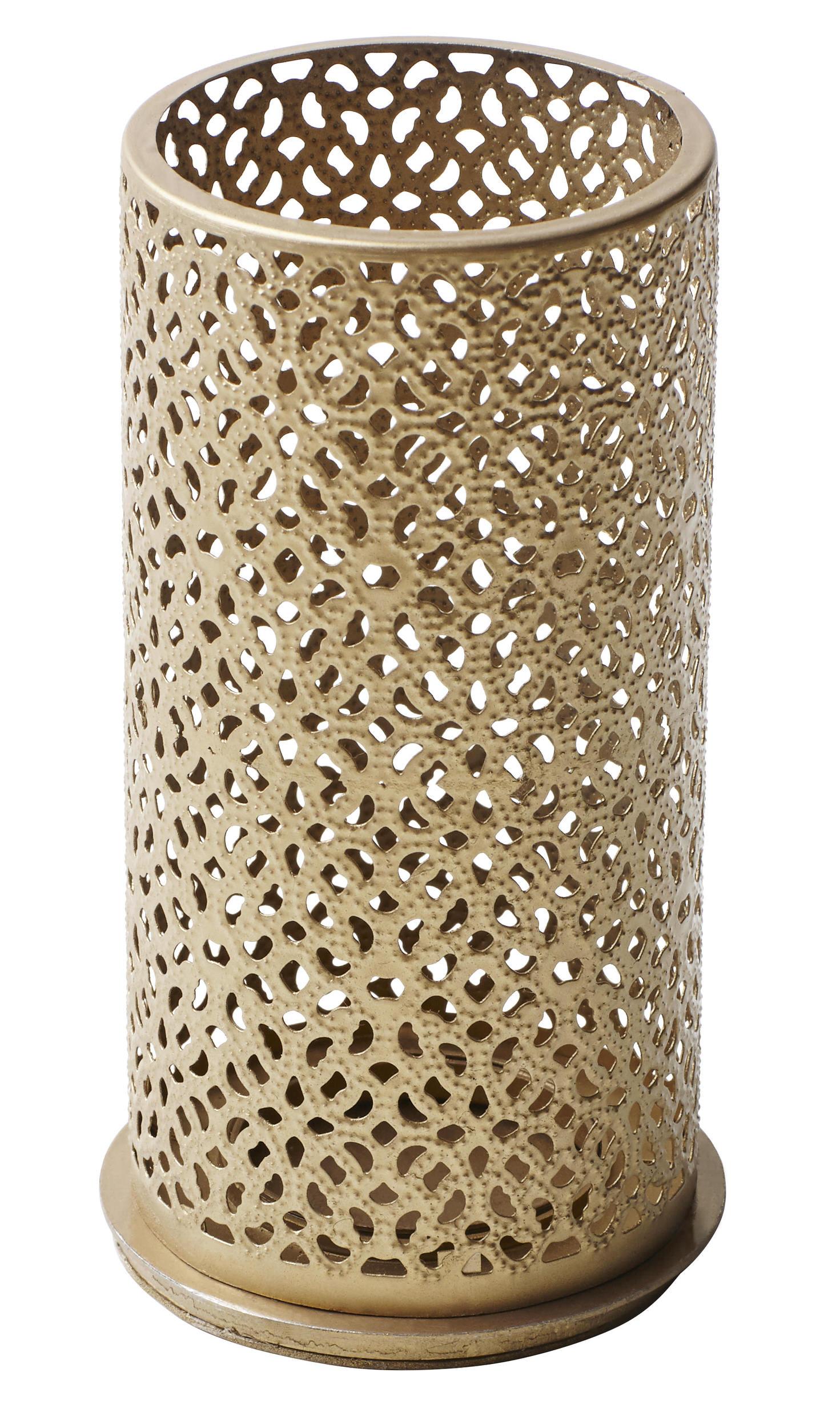 Duni Metallkerzenhalter Blliss Silber 140x75 mm