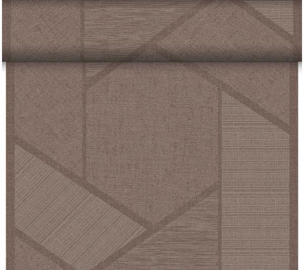 Partytischdecke.de | Duni Tischläufer 40 cm x 24 m Dunicel Elwin Greige