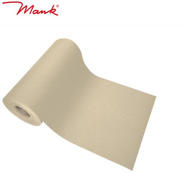 Partytischdecke.de | Tischband Mank Linclass 20 cm x 20 m creme
