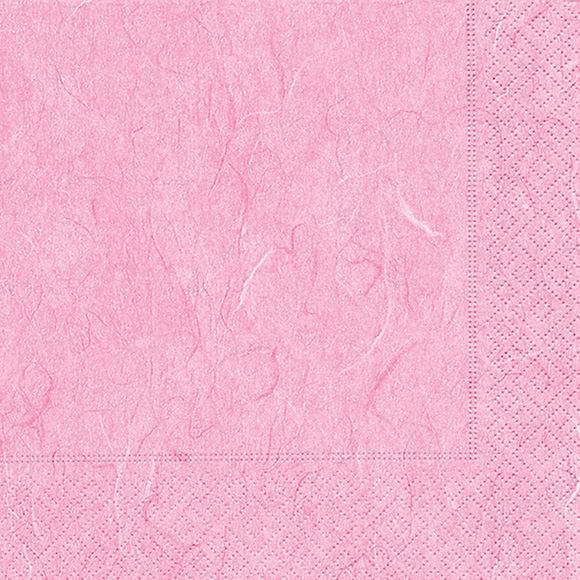 Servietten 33x33 Pure rosé 20 Stück