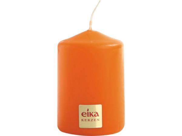 Partytischdecke.de | Eika Stumpenkerze Ø 5 x 7 orange
