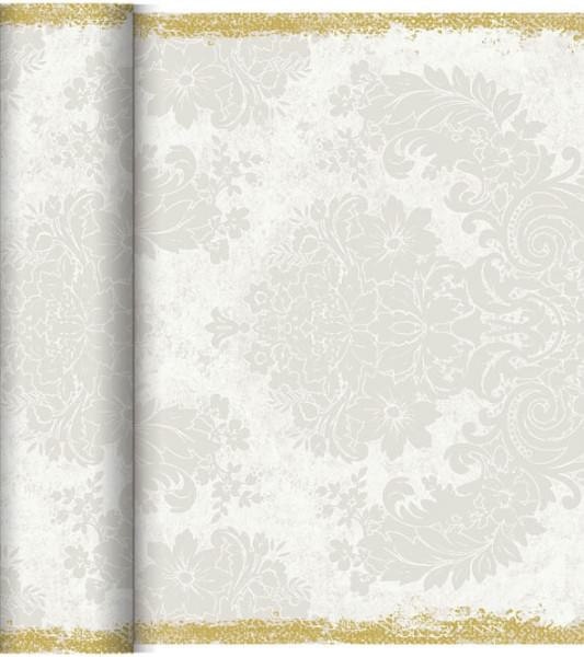 Duni Tischläufer 40 cm x 24 m Dunicel Royal White