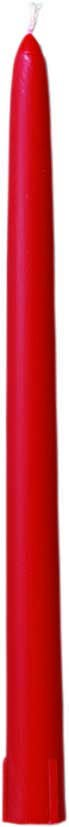 Partytischdecke.de | Spitzkerzen Ø 2,2x26 durchgefärbt rot 10er Pack