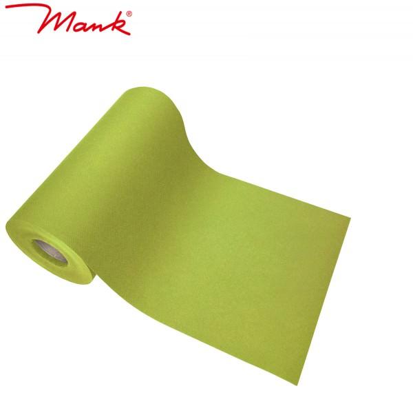 Partytischdecke.de | Tischband Mank Linclass 20 cm x 20 m kiwi