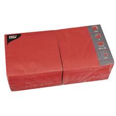 Partytischdecke.de   Servietten 33x33 Color rot 250 Stück 3-lagig
