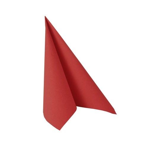 Partytischdecke.de | Serviette 33x33 Royal rot 20 Stück