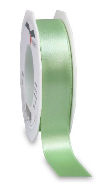 Partytischdecke,de | Satin Premium Band 25 mm x 25 m pastellgrün