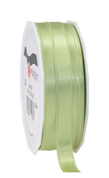 Partytischdecke,de | Satin Premium Band 10 mm x 25 m pastellgrün