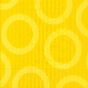 Partytischdecke.de | Servietten 25x25 Circle yellow 20 Stück