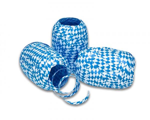 Partytischdecke.de   Band BAVARIA weiss-blau 5-mm x 20-m-Eiknäuel