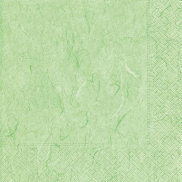 Servietten 33x33 Pure mint green 20 Stück