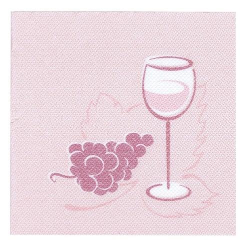 Partytischdecke.de | Servietten Royal 25x25 bordeaux | Wein | 50 Stück