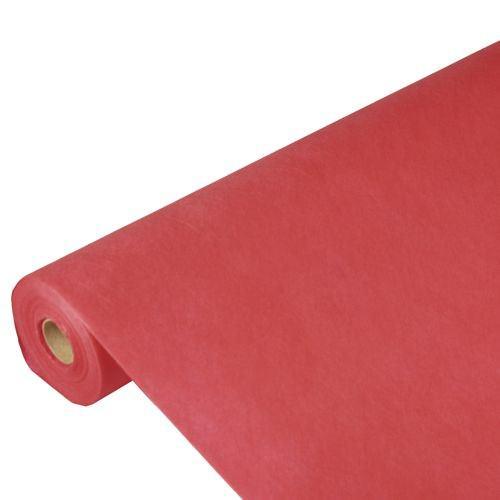 Partytischdecke.de | PP-Vlies Tischdecke Soft Selection 40 m x 1,18 m rot