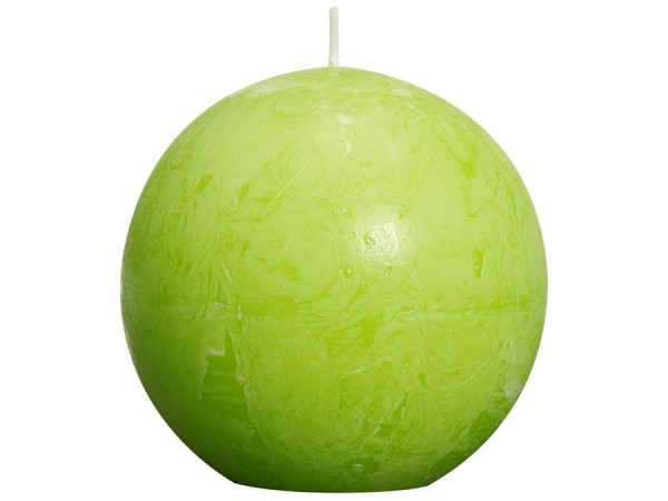Bolsius Rustic Kugelkerze Ø 8 lemon
