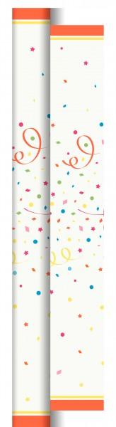 Partytischdecke.de | Duni Tischdecke Dunicel 0,90 x 40 m Confetti