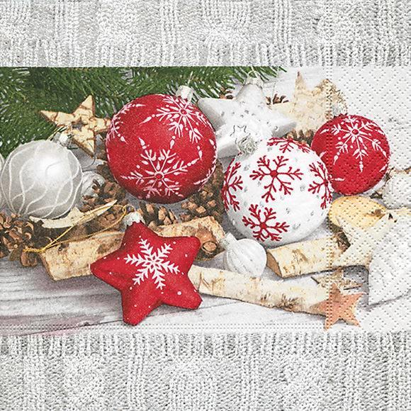 Partytischdecke.de | Servietten 33x33 weihnachtliche Deko