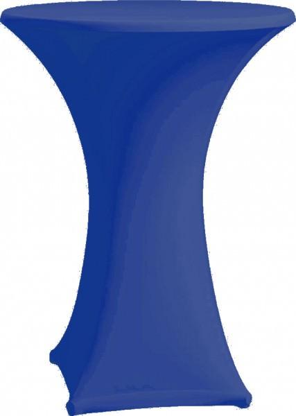 Stehtischhusse Strech Ø 70 blau 1 Stück