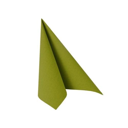 Partytischdecke.de | Serviette 25x25 Royal olivgrün 20 Stück