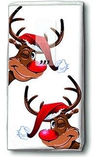 Partytischdecke.de | Motiv Taschentücher Rudolph 10 Stück