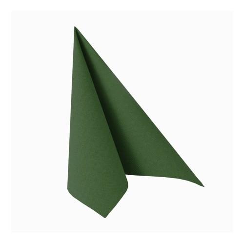 Partytischdecke.de | Serviette 25x25 Royal dunkelgrün 50 Stück