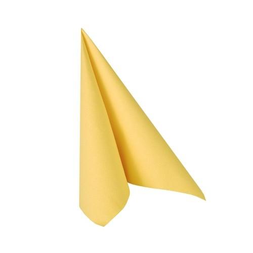 Partytischdecke.de | Serviette 33x33 Royal sonnengelb 20 Stück