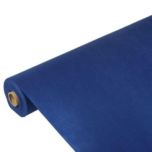 Partytischdecke.de | PP-Vlies Tischdecke Soft Selection 25 m x 1,18 m dunkelblau