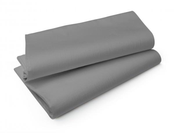 Partytischdecke.de | Duni Evolin Mitteldecke 1,10 x 1,10 m granite grey